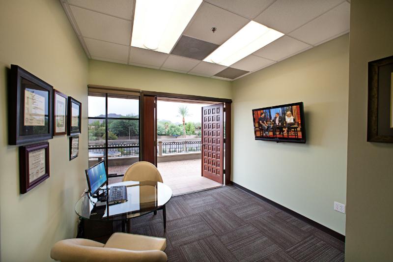 Consultation Room & Patio