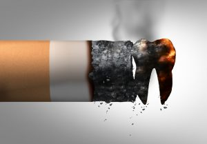 smoking and dental health problem